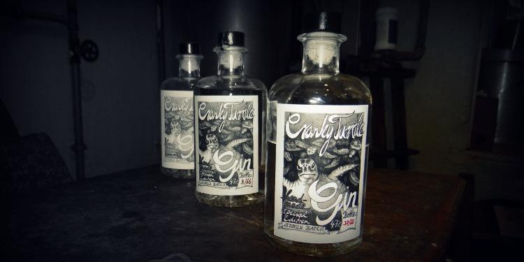 Cranky Turtle: Handmade Dry Gin, Germany