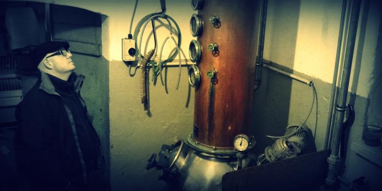 Gin aus eigener Herstellung,